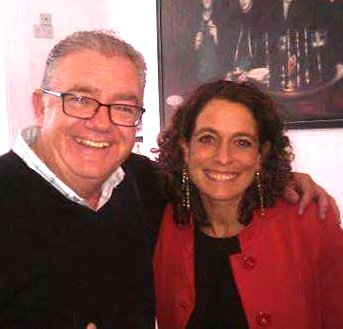 Steve with Alex Polizzi